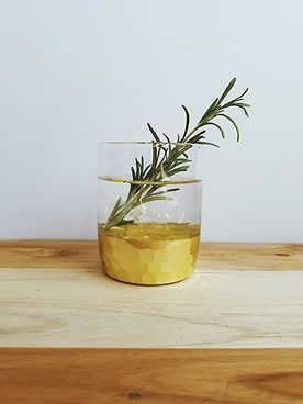 Burnt Rosemary Gin Cocktail