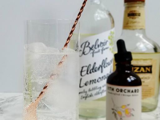 Rum & Elderflower Lemonade Cocktail