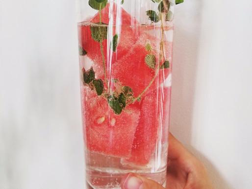 Watermelon Vodka Spritzer