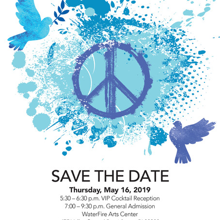 Tickets Available Now - Invest In Peace 2019