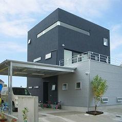 3階建て住宅の写真