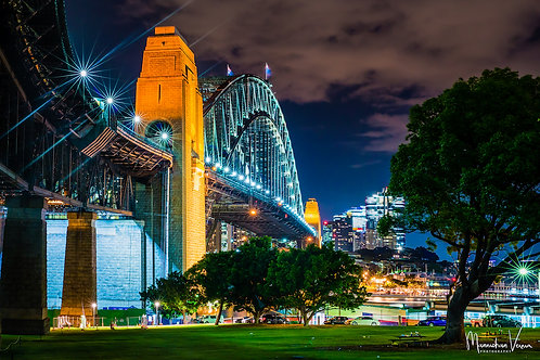 Sydney Harbour Bridge Side View