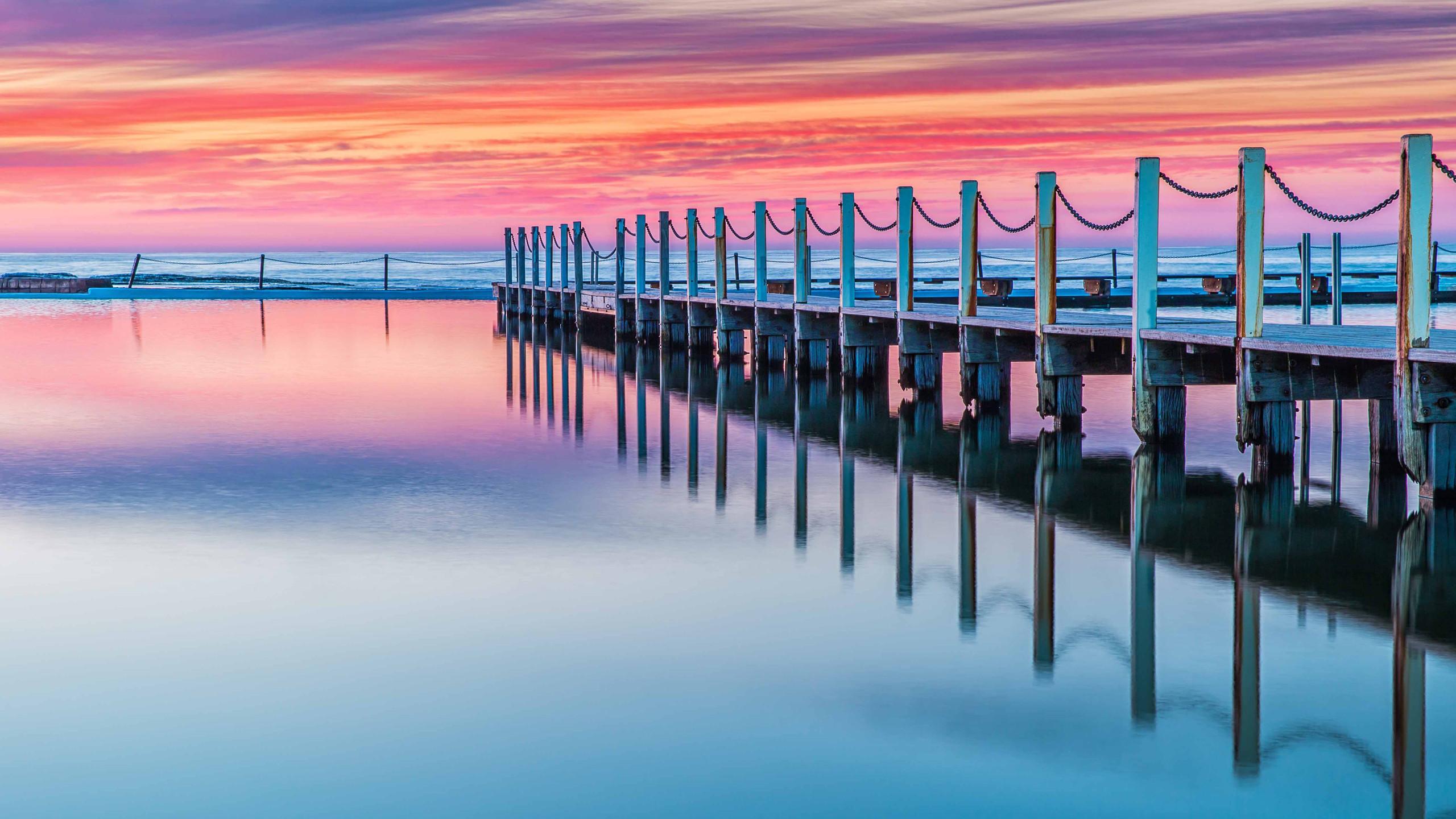 Beautiful Reflection During Sunrise