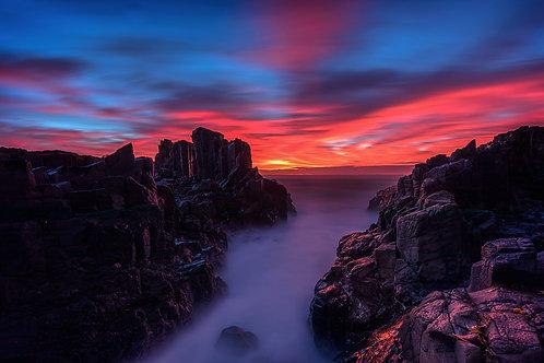 Sunrise @ Bombo Quarry
