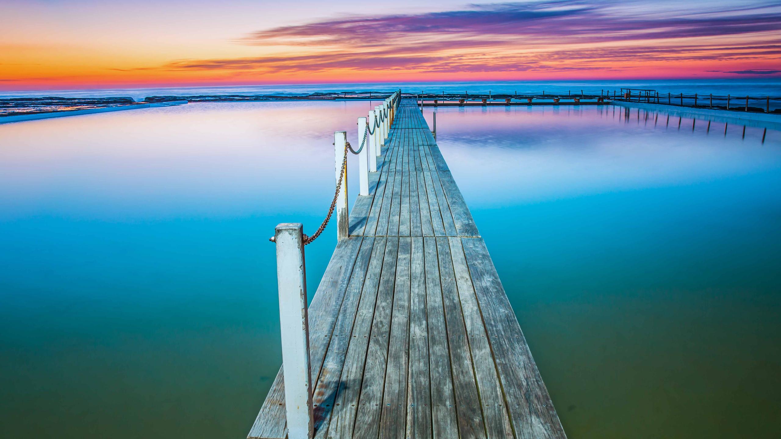 Narrbeen timber boardwalk