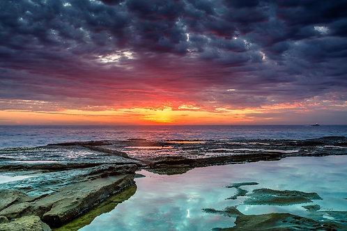Sunrise Sky, Dee Why, NSW