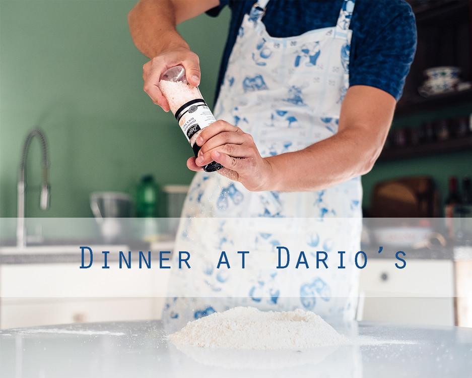 Dinner at Dario's (recipe for 5 people)