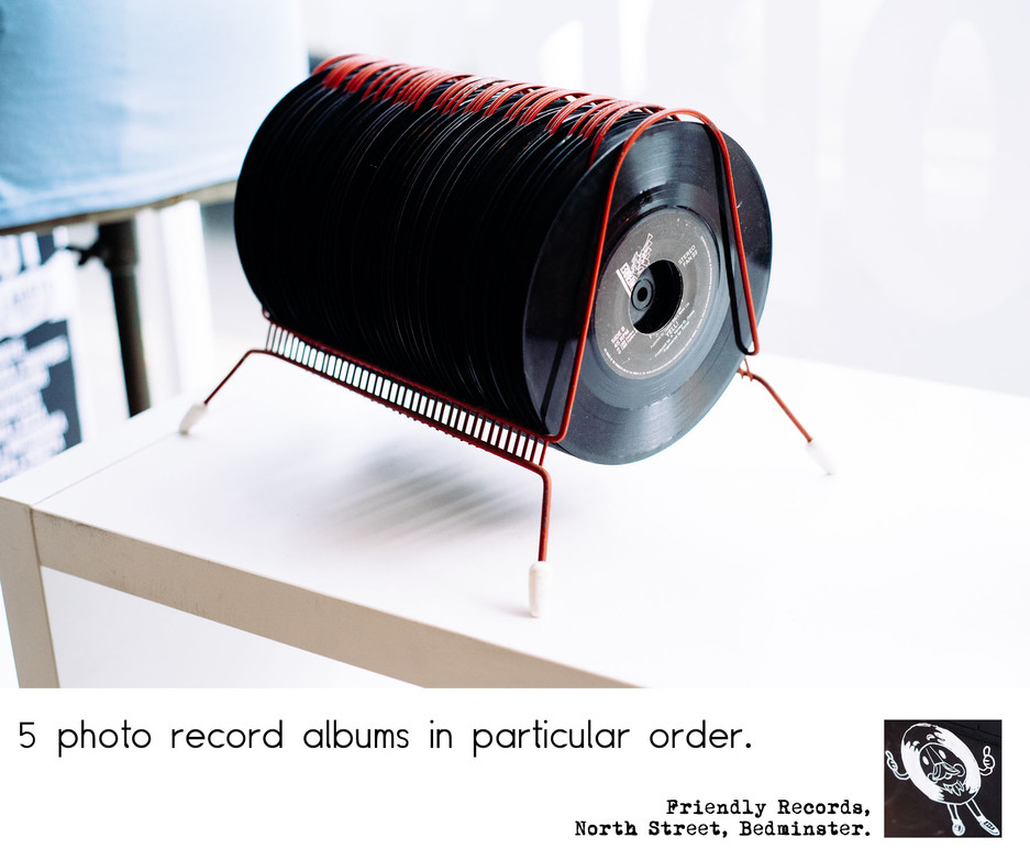 5 photo record albums (in no particular order)