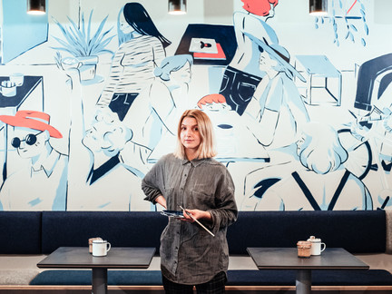 The art of people watching: Nay Groves, illustrator