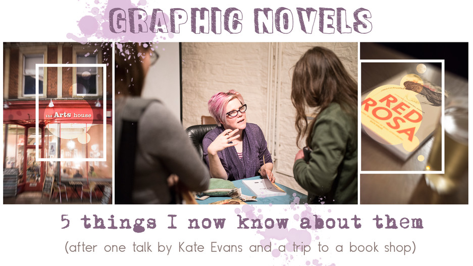 Graphic novels: 5 things I now know about them (after one talk and a trip to a book shop )