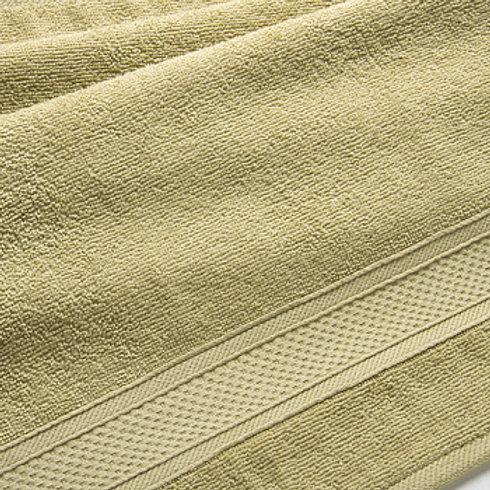 Полотенце махровое Оливковый