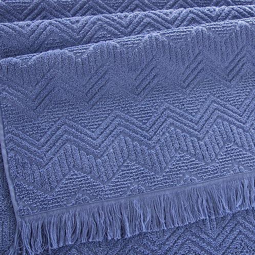 Полотенце Бавария серо-голубой