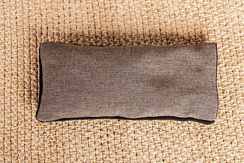 Накладка на глаза прямая коричневая