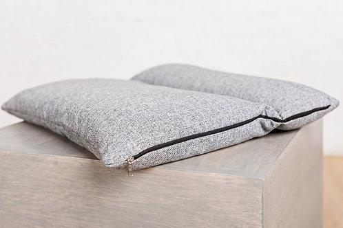 Подушка трансформер серая