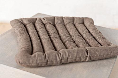 Подушка ЭКО коричневая