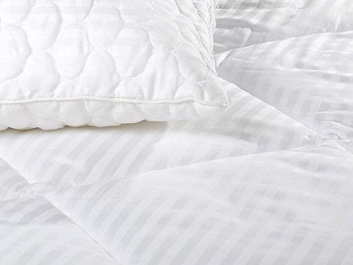 Одеяло страйп-сатин/бамбук