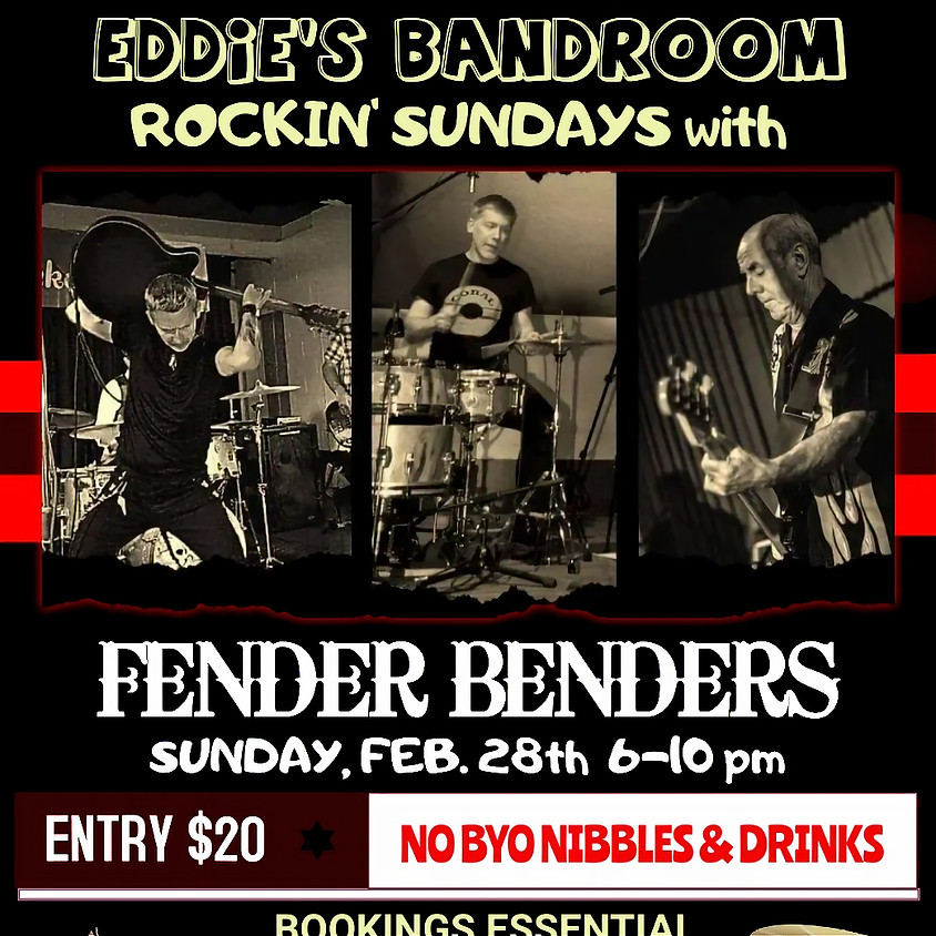 ROCKN' SUNDAY WITH THE FENDER BENDERS