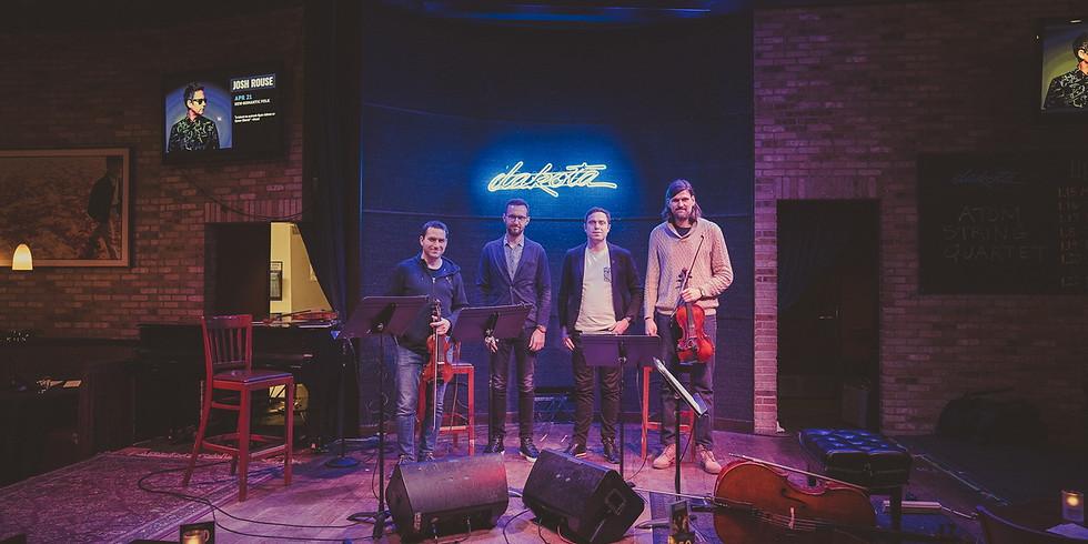 Atom String Quartet - spotkanie online.