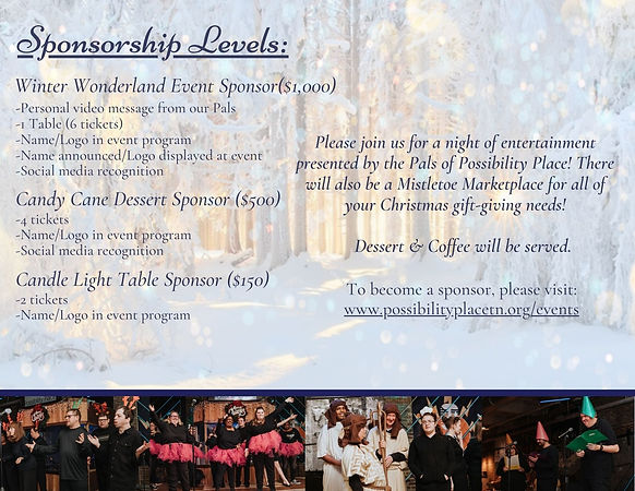 Night of Possibilities December 11th, 20