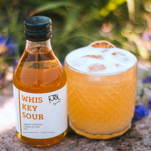 KIT Whiskey Sour 215ml - Drink Fuel Signature + Copo Baixo Old Fashioned