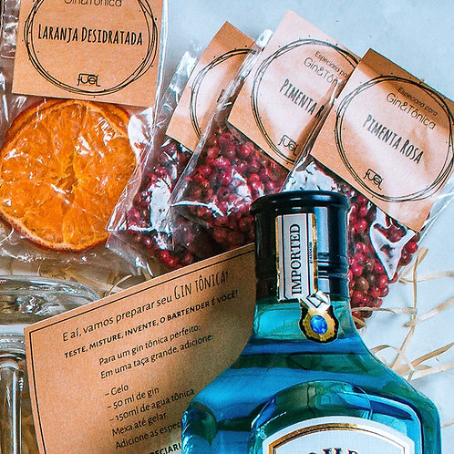 Kit Gin & Tônica SUPREME + 1 Colher Bailarina +1 Dosador