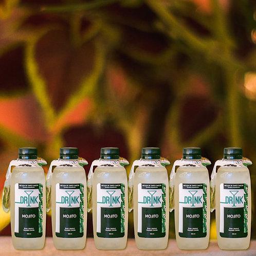 COMBO com 6 Mojito (rende até 12 drinks)