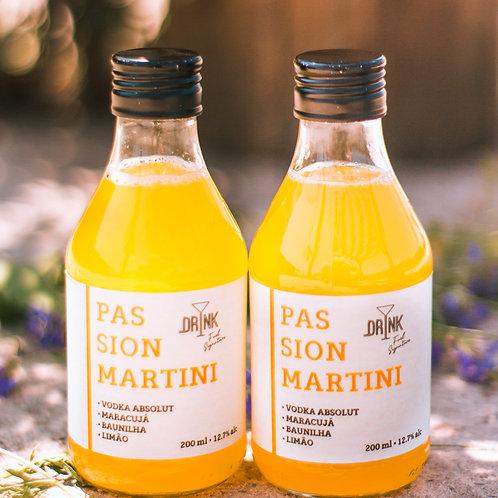 Pack com 4 Passion Martini 200ml - Drink Fuel Signature
