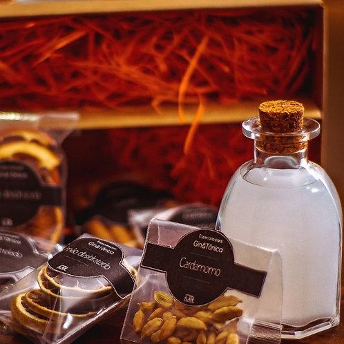 Kit presente Gin Tônica Perolizado Fuel + Colher Bailarina + Dosador