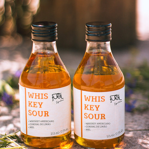 Pack com 4 Whiskey Sour 215ml - Drink Fuel Signature