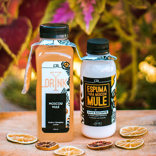 Drink Moscow Mule 310ml - Rende até 2 drinks