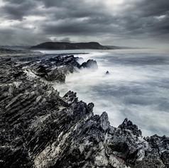 Dramatic Coastline Landscape Photo