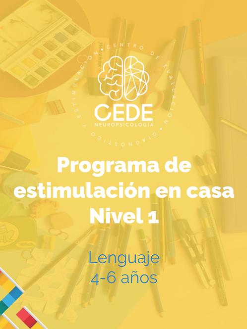 Programa de estimulación - Lenguaje Nivel 1