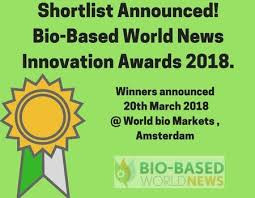 Advonex International Nominated for Innovation Award at the World Bio Markets Conference in Amsterda