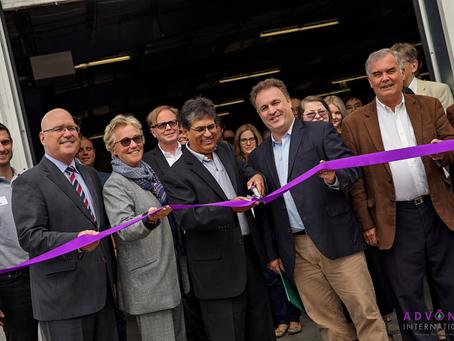 Advonex International Opens 12,000 Square Foot Pilot Manufacturing Facility