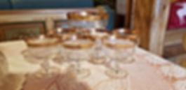 servizio da macedonia o dolce al cucchiaio, anni 30, scoperto ad un mercatino di Trento