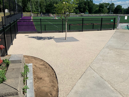 Porous Paving- Green Infrastructure Installation at University of Albany