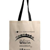 Un tote bag offert pour les abonnés au site ucwilson.fr