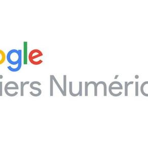 Partenariat Google Ateliers numériques