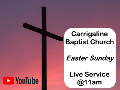 Easter Sunday Service 'Live' - 12 Apr 2020