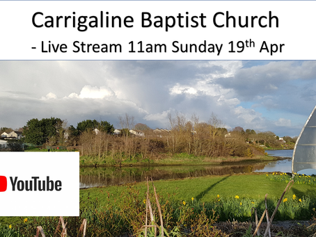 YouTube Live Stream Service - 19 Apr 2020