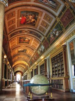 Inside the Chateau de Fontainebleau