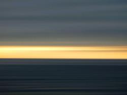 Sunset over Leblon Beach, Rio