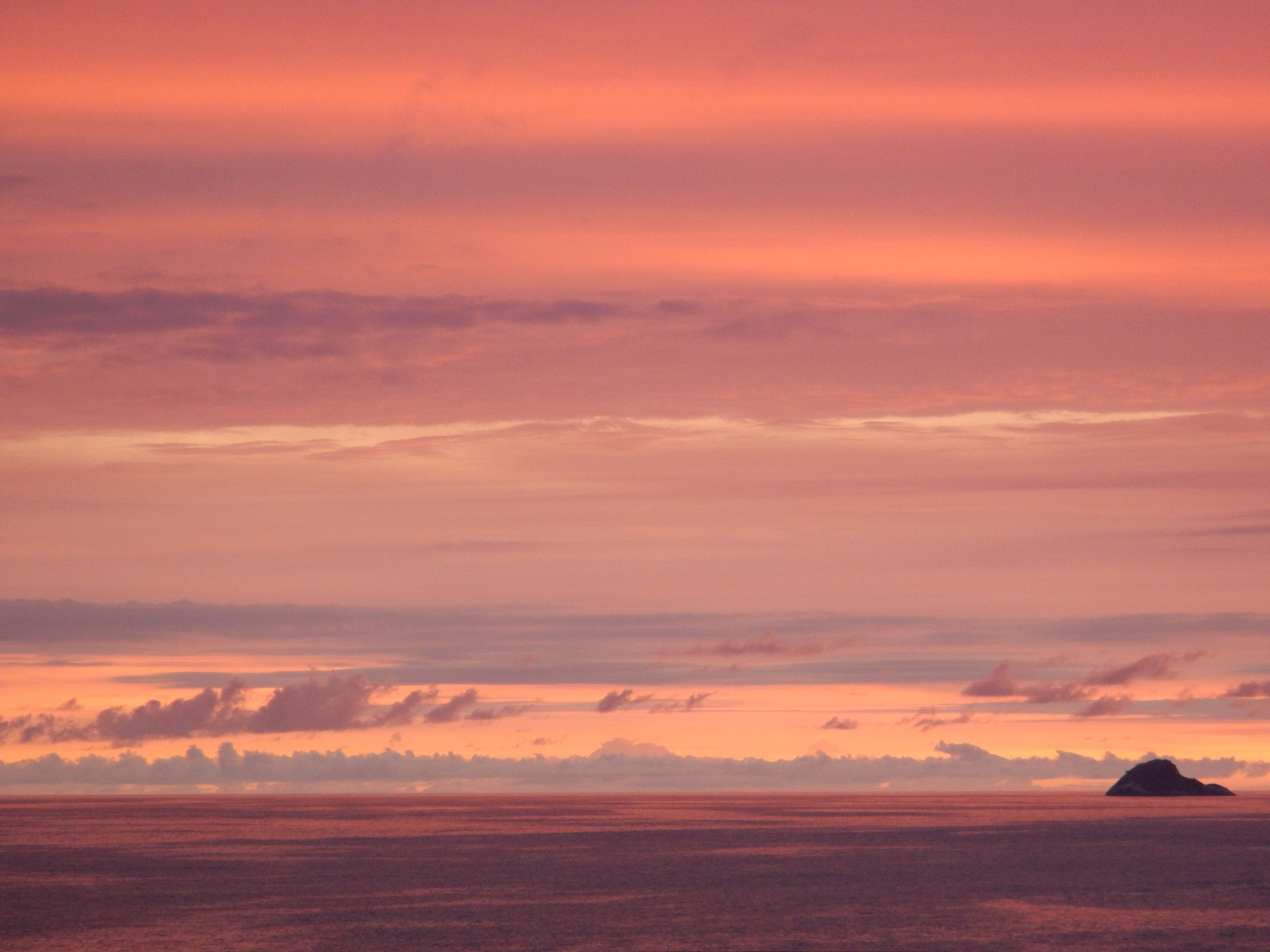 Sunset on Leblon, Rio de Janeiro