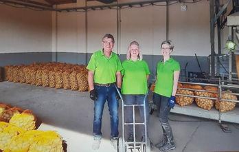 Unser Team vom Kartoffelverkauf