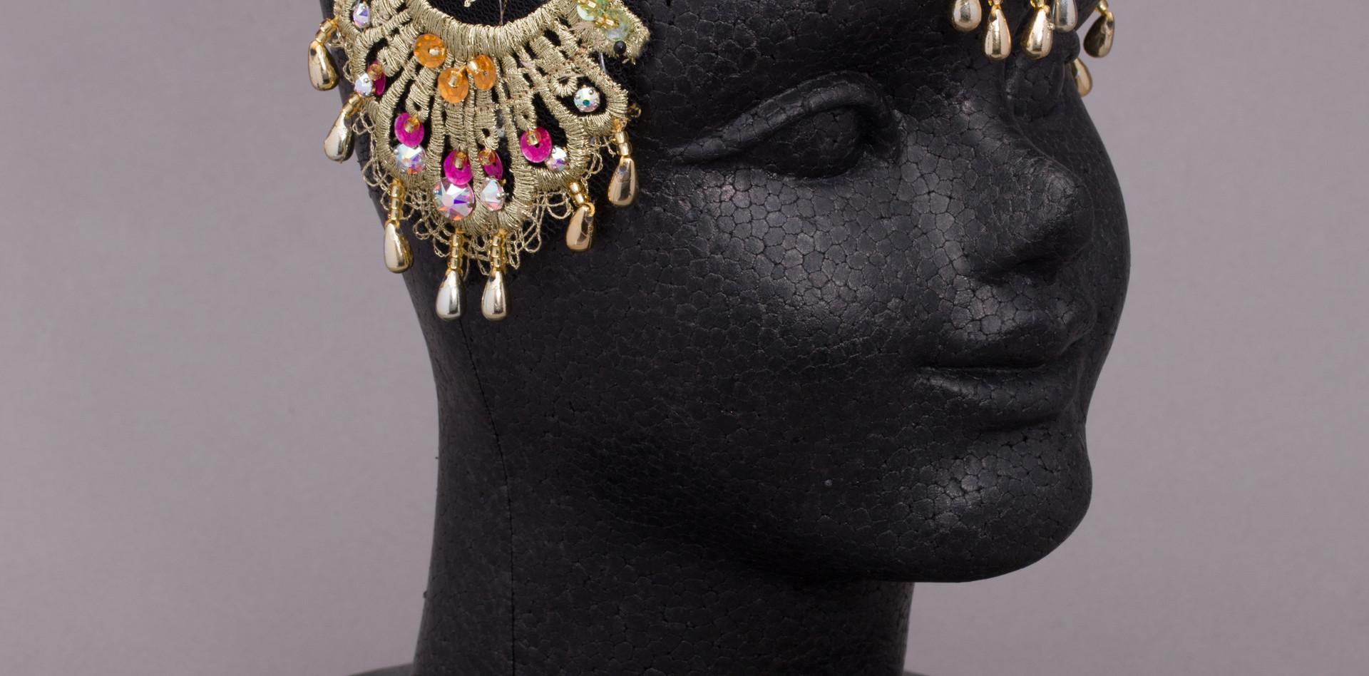 ガムザッティ ゴールドヘッドドレス