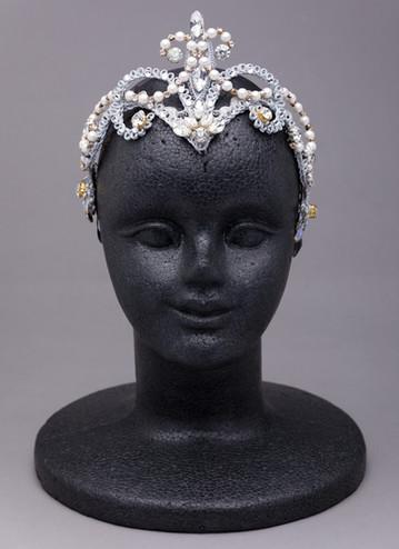 シルバーホワイト ダイヤモンドティアラ