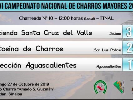 Charreada N. 10 - 12:00 hrs (Local) - FINAL