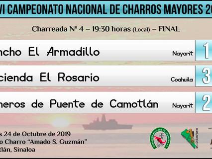 Charreada No. 4 - 19:30 hrs (Local) _ FINAL