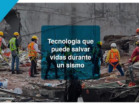 Tecnología que puede salvar vidas durante un sismo