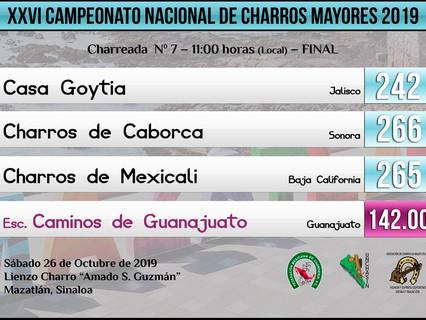 Charreada N. 7 - 11:00 hrs (Local) - FINAL